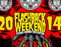 Flashback Weekend Chicago Horror Convention T-Shirt