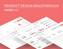 UX/UI and Branding for Media Planning Startup