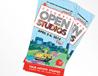Columbia Open Studios 2014
