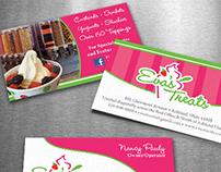 Eva's Treats Logo Design and Cards