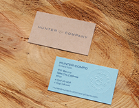 Hunter & Company Stationary