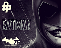 BATMAN 75th ANNIVERSARY / POSTER POSSE #10