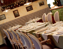 SERAFINO italian restaurant, Saint-Petersburg 2011