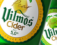 Branding, Label, Packaging  - Vilmos Cider
