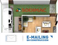 SODIMAC  / E-Mailing en Construcción -