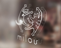 Milou Pet Store Branding