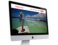Travel Website UI
