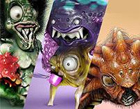 Monsters of my nightmares (characters)