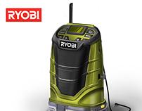 Ryobi Jobsite Radio
