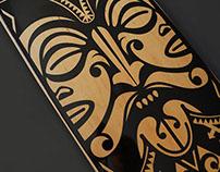 Polynesian Skateboard Deck