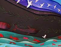 Ilustración tridimensional: En el mundo al que vienes