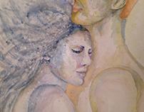 Selene & Helio's kiss