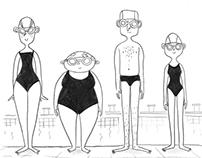 Il corso di nuoto ( the swim class)