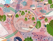 Editorial Illustration: Dengue Fever, SILA West 53