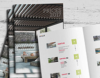 HELLA - Pergolas Price List 2017
