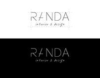 Branding for interior studio Randa