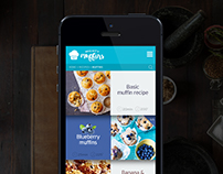 Mighty Muffins App UI
