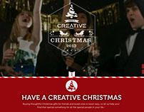 Creative Labs Microsite - 2013 Christmas