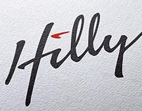 Hilly Logo & Identity