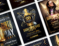 Birthday Flyer Bundle