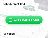 UX UI for Selected Web Services & Apps