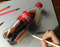 Drawing Coca-Cola Bottle