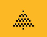 "Christmas card taxi ""Gettaxi"""