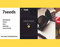 7seeds Template HTML5