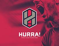Hurra - Forma quem transforma - Rebranding | ONG