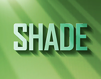 Shade - Light and Shade Effect Typography