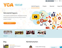 YGA // New Web Design