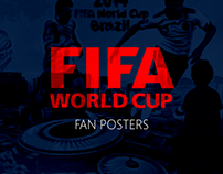 2014 FIFA World Cup Fan Posters