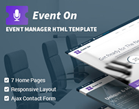 Event On - Responsive HTML Template