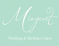 Muguet cakes Branding