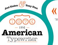 / American Typewriter