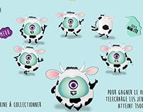 Les Bumbles ! Les p'tits monstres deguisés en vache