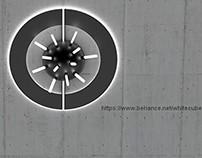 block's+sphere - wall lamp