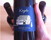 "Wine labels ""Kezele"""