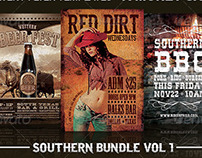 Southern Flyer Templates Bundle Vol 1.