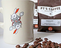 PT's Coffee Roasting Co. Artist Series 2014
