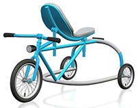Push bike for kids concept