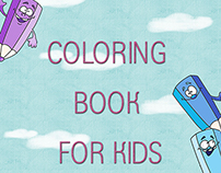 """Screen for """"coloring book for kids"""""""