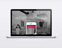 Guitarra Portuguesa App Website