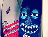 Monster Surfboards commission
