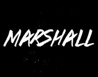 DJ Marshall X Logo - MOEL