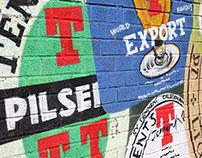 Wellpark Brewery Supergraphics