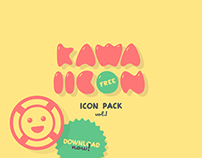 KAWAIICON | FREE Icon pack - vol.1