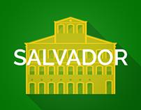 Brazil 2014 Host Cities - Salvador