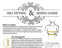 brabar|boutique Fit + Sizing Guides