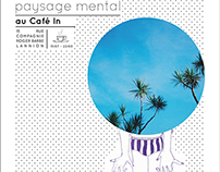 "EXHIBITION-""Paysage mental"""